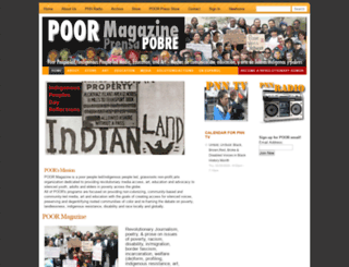poormagazine.com screenshot