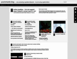 poorrichards-blog.blogspot.com screenshot