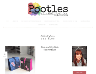 pootles.co.uk screenshot