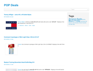 pop-deals.com screenshot