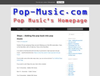 pop-music.net screenshot