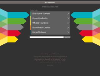 pop.thebossradio.net screenshot