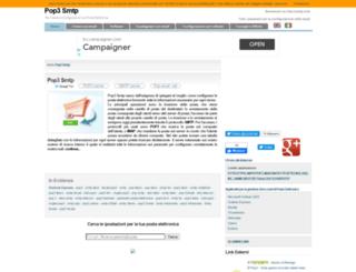 pop3-smtp.com screenshot
