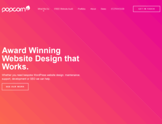 popcornwebdesign.co.uk screenshot