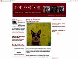 popdogblog.blogspot.com screenshot