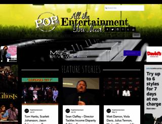 popentertainment.com screenshot
