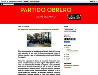 popergamino.blogspot.com.ar screenshot