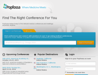 popfossa.com screenshot