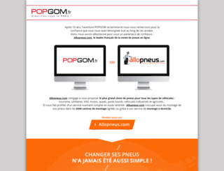 popgom.fr screenshot