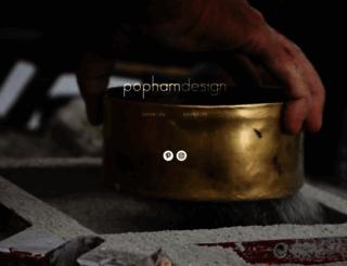 pophamdesign.com screenshot