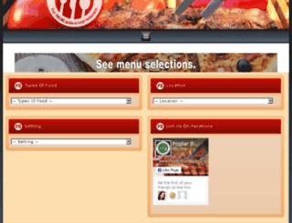 poplarbluffrestaurantguide.com screenshot
