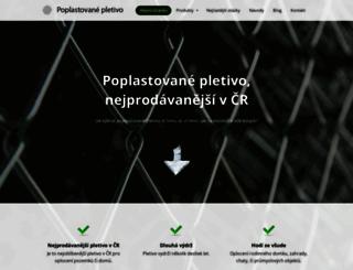 poplastovanepletivo.cz screenshot