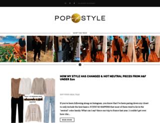 popofstyle.com screenshot