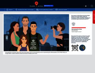 popolskupopolsce.edu.pl screenshot