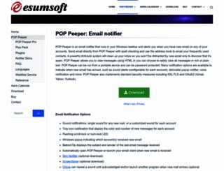 poppeeper.com screenshot