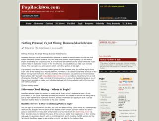 poprock80s.com screenshot