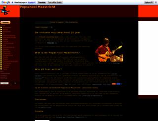 popschoolmaastricht.nl screenshot