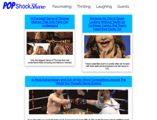 popshockshare.com screenshot