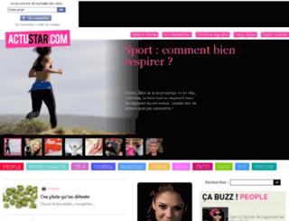 popstars.actustar.com screenshot
