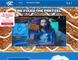 poptarts.com screenshot