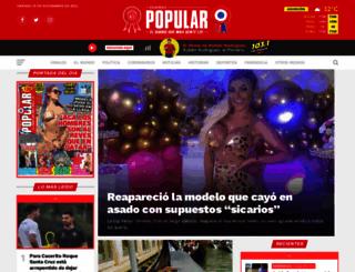 popular.com.py screenshot