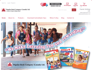 popularbook.ca screenshot