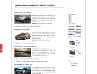 popularcar.blogspot.com screenshot