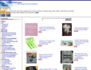 popularcrafts.onlinecraftsstore.com screenshot