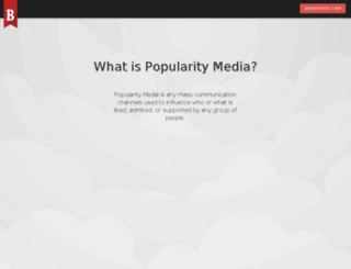 popularity.media screenshot