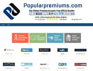 popularpremiums.com screenshot