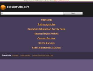 populartruths.com screenshot