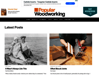 popularwoodworking.com screenshot