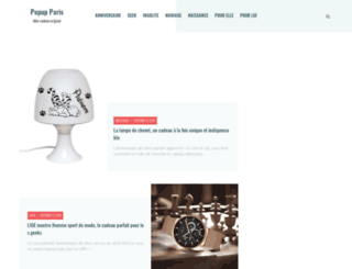 popup-paris.com screenshot