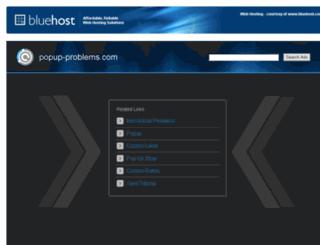 popup-problems.com screenshot