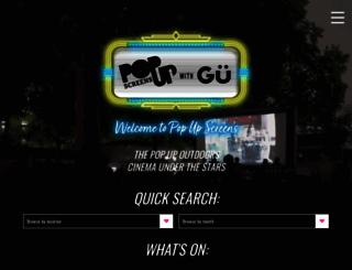 popupscreens.co.uk screenshot