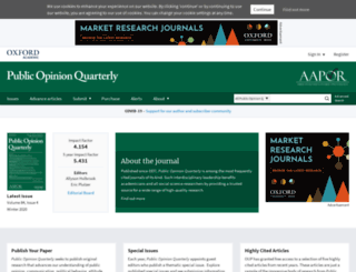 poq.oxfordjournals.org screenshot