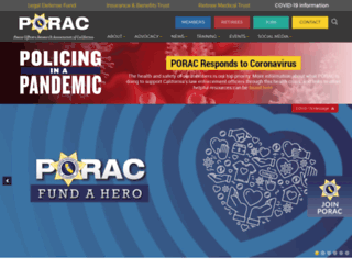 porac.org screenshot
