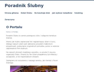 poradnikslubny.info screenshot
