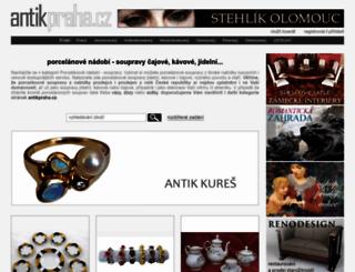 porcelanove-nadobi-soupravy.antikpraha.cz screenshot