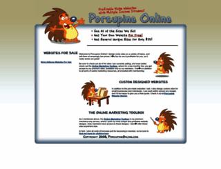 porcupineonline.com screenshot
