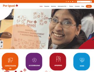 porigualmas.org screenshot