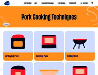 porkbeinspired.com screenshot