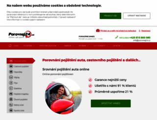 porovnej24.cz screenshot
