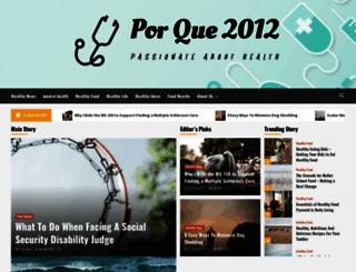 porque2012.com screenshot