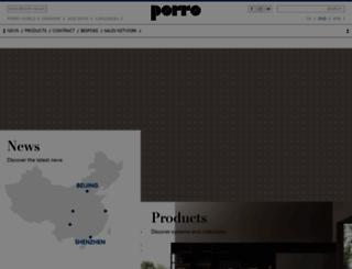porro.com screenshot