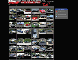 porschatrader.com screenshot