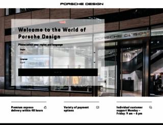 porsche-design.us screenshot