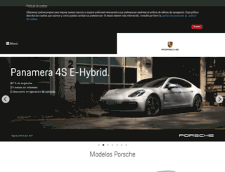 porsche.mx screenshot