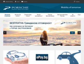 porscheleasing.bg screenshot