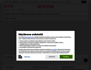 porssi.arvopaperi.fi screenshot